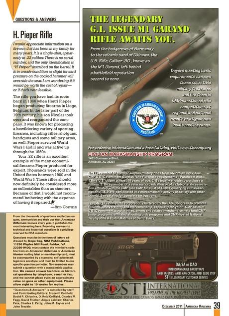 American Rifleman - December 2011