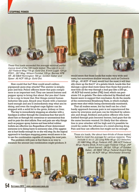 American Rifleman - September 2012