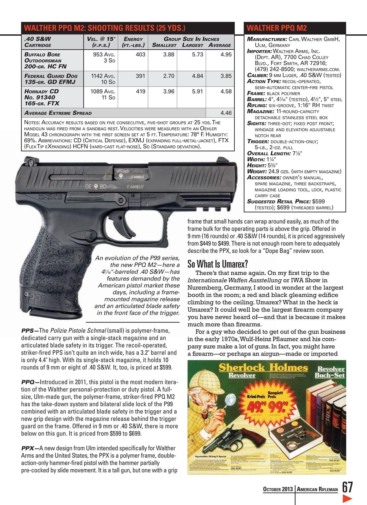 American Rifleman - October 2013