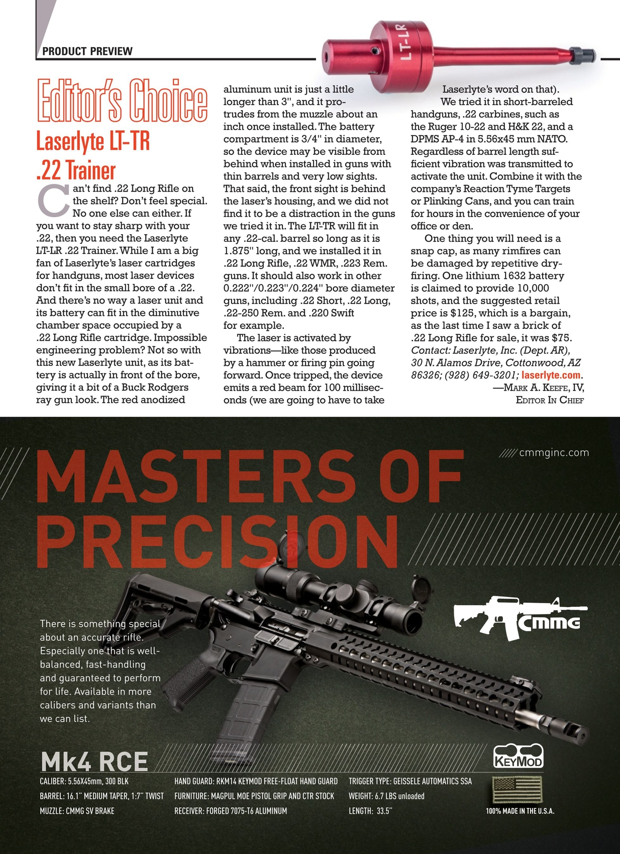 American Rifleman - September 2014