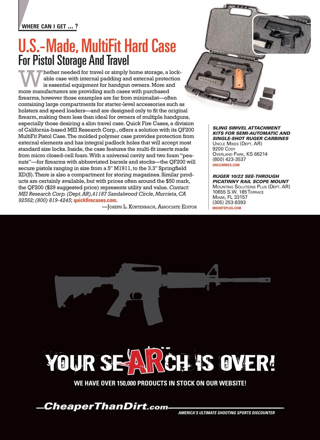American Rifleman - November 2014