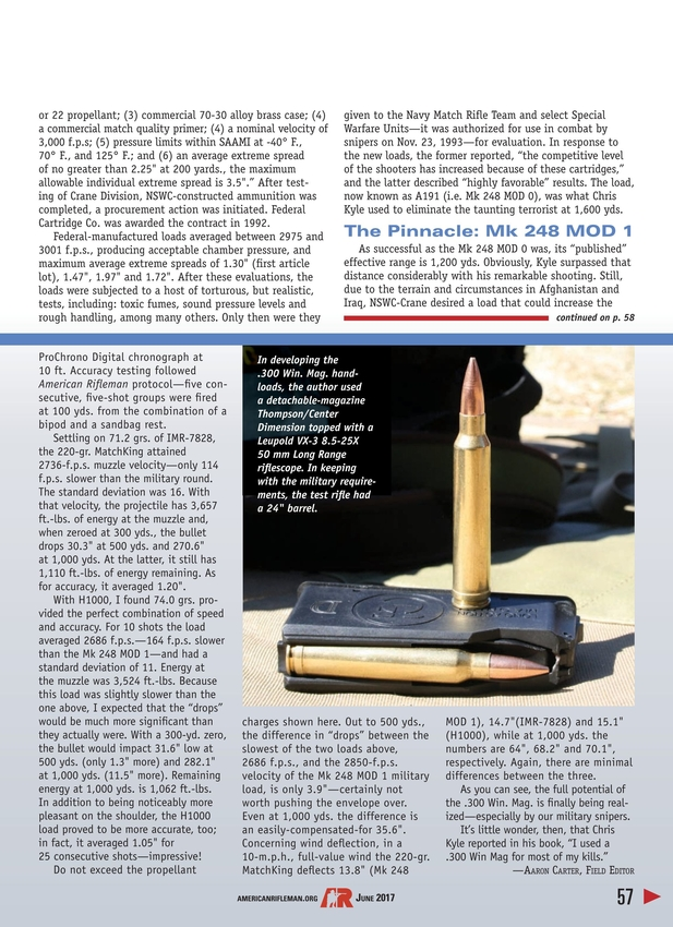 American Rifleman - June 2017