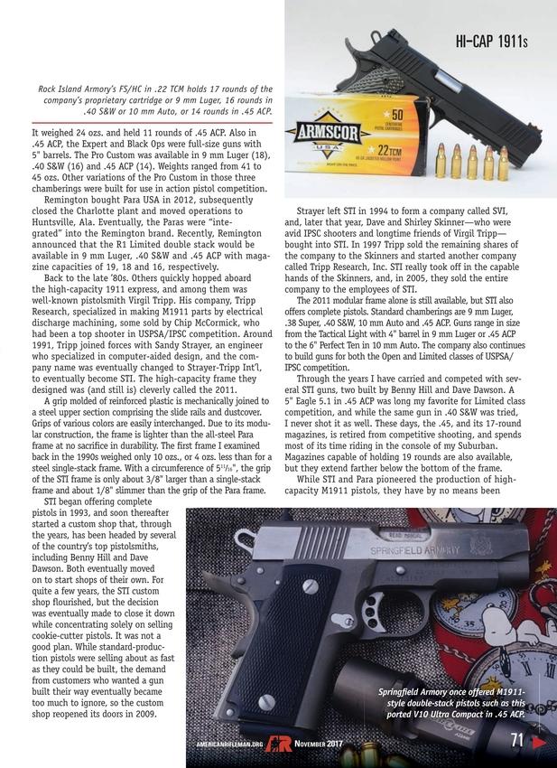 American Rifleman - November 2017