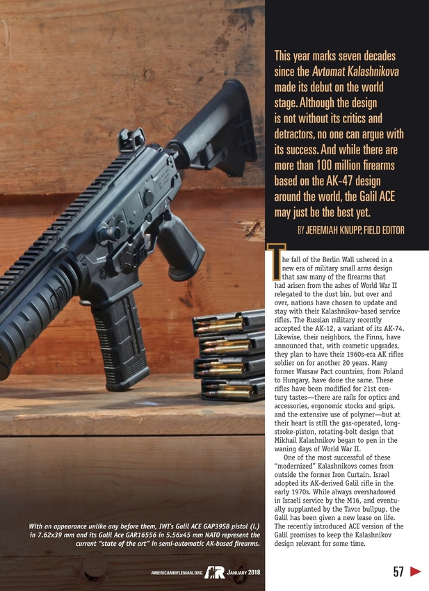 American Rifleman - January 2018