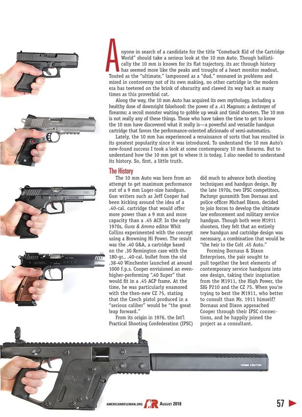 American Rifleman - August 2018