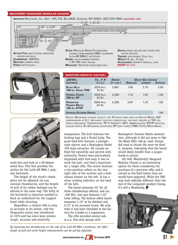 American Rifleman - September 2018