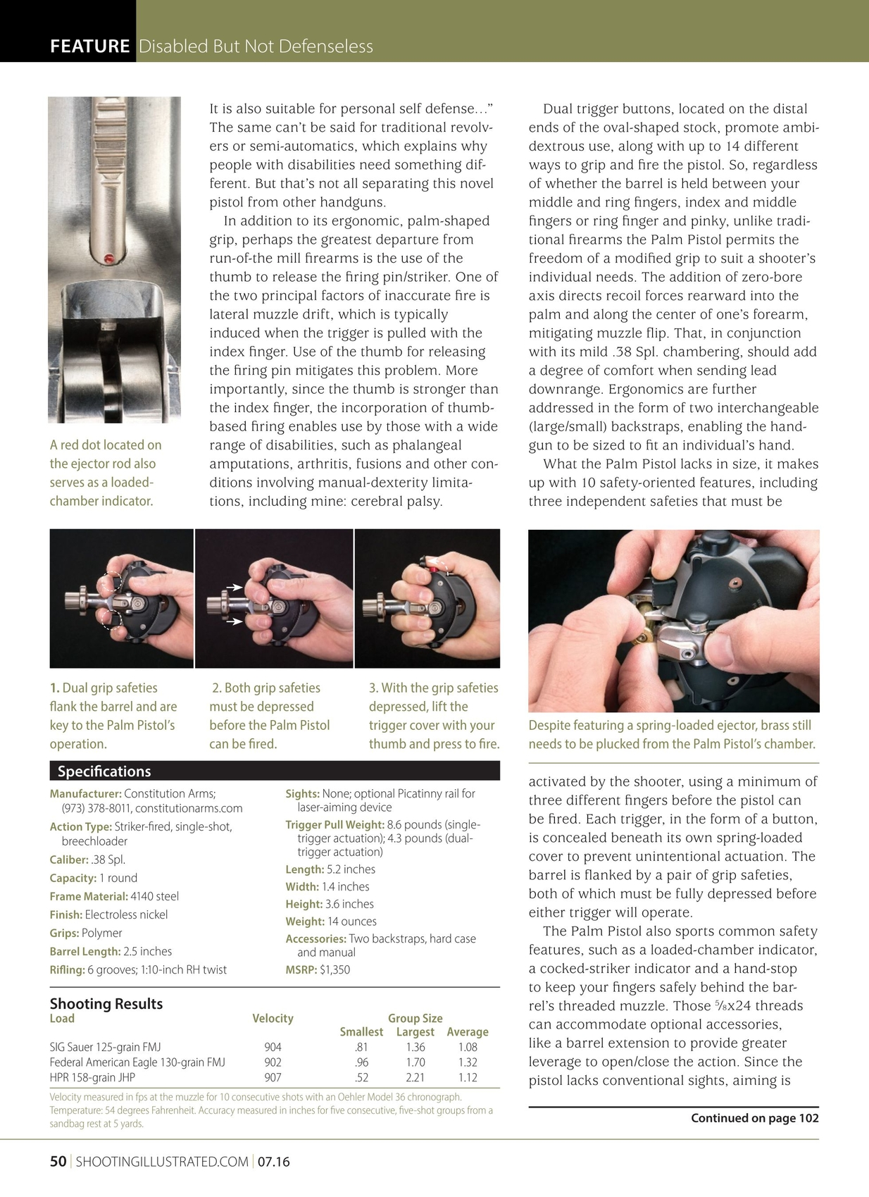 Shooting Illustrated July 2016 Eagle 2 45 Lift Wiring Diagram