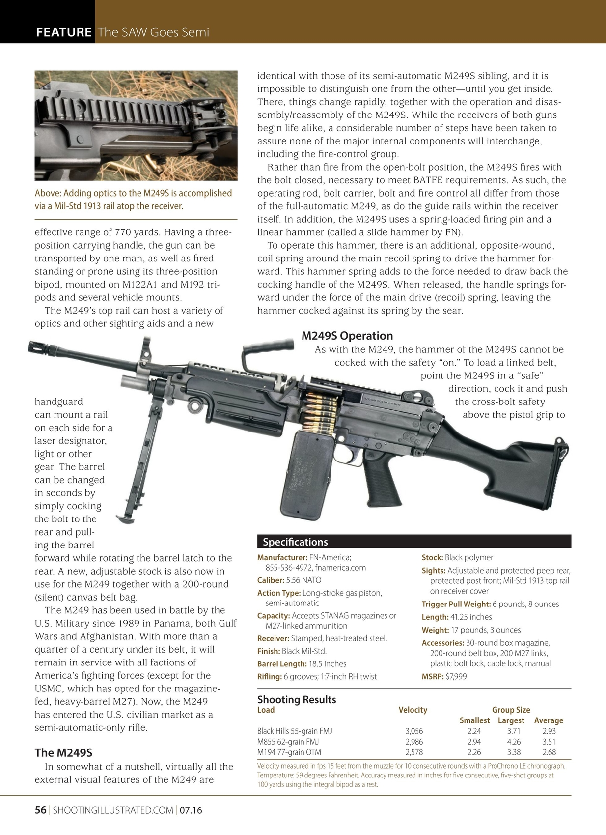 Shooting Illustrated - July 2016