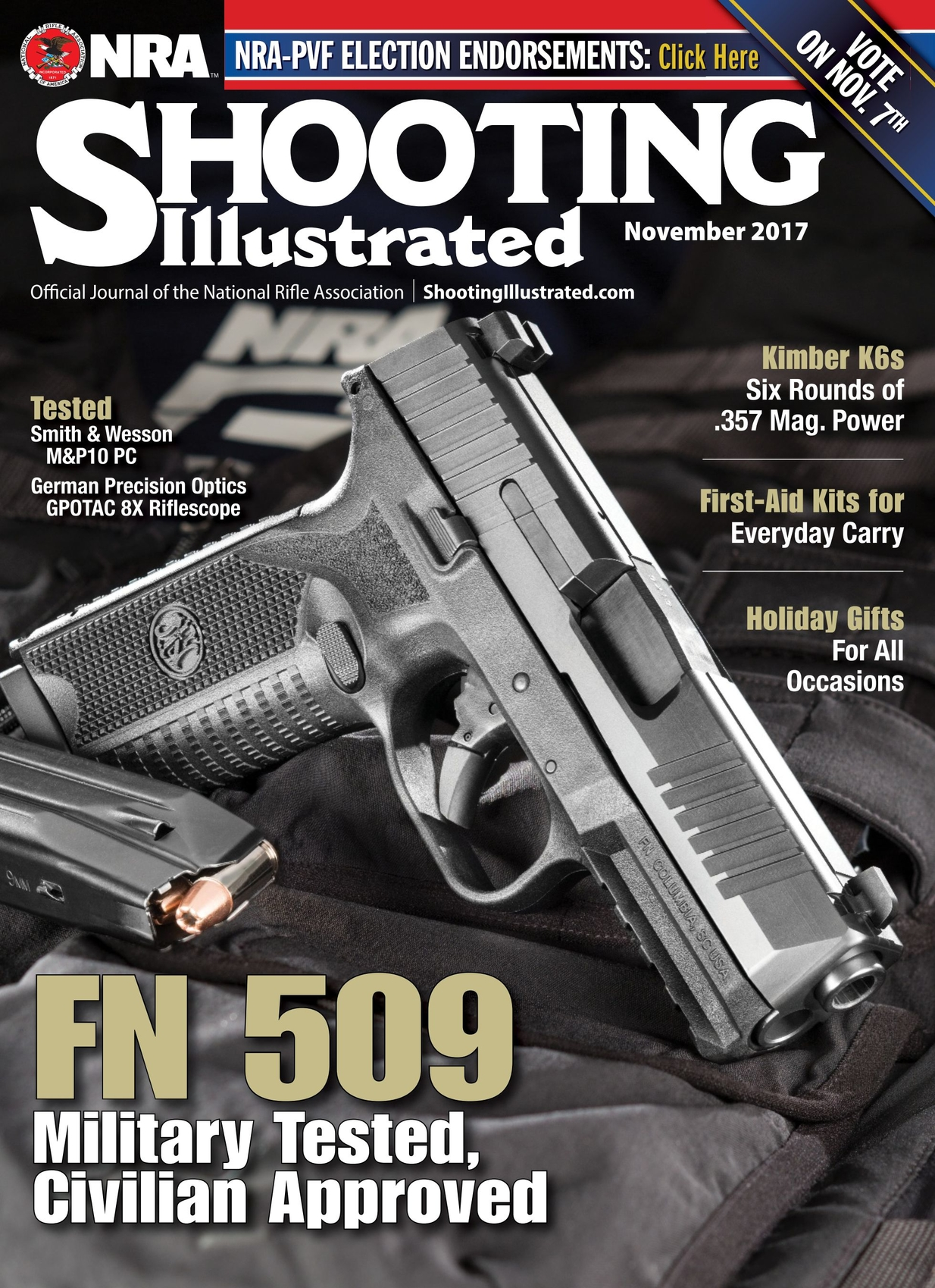 1ce30a13706 Shooting Illustrated - November 2017