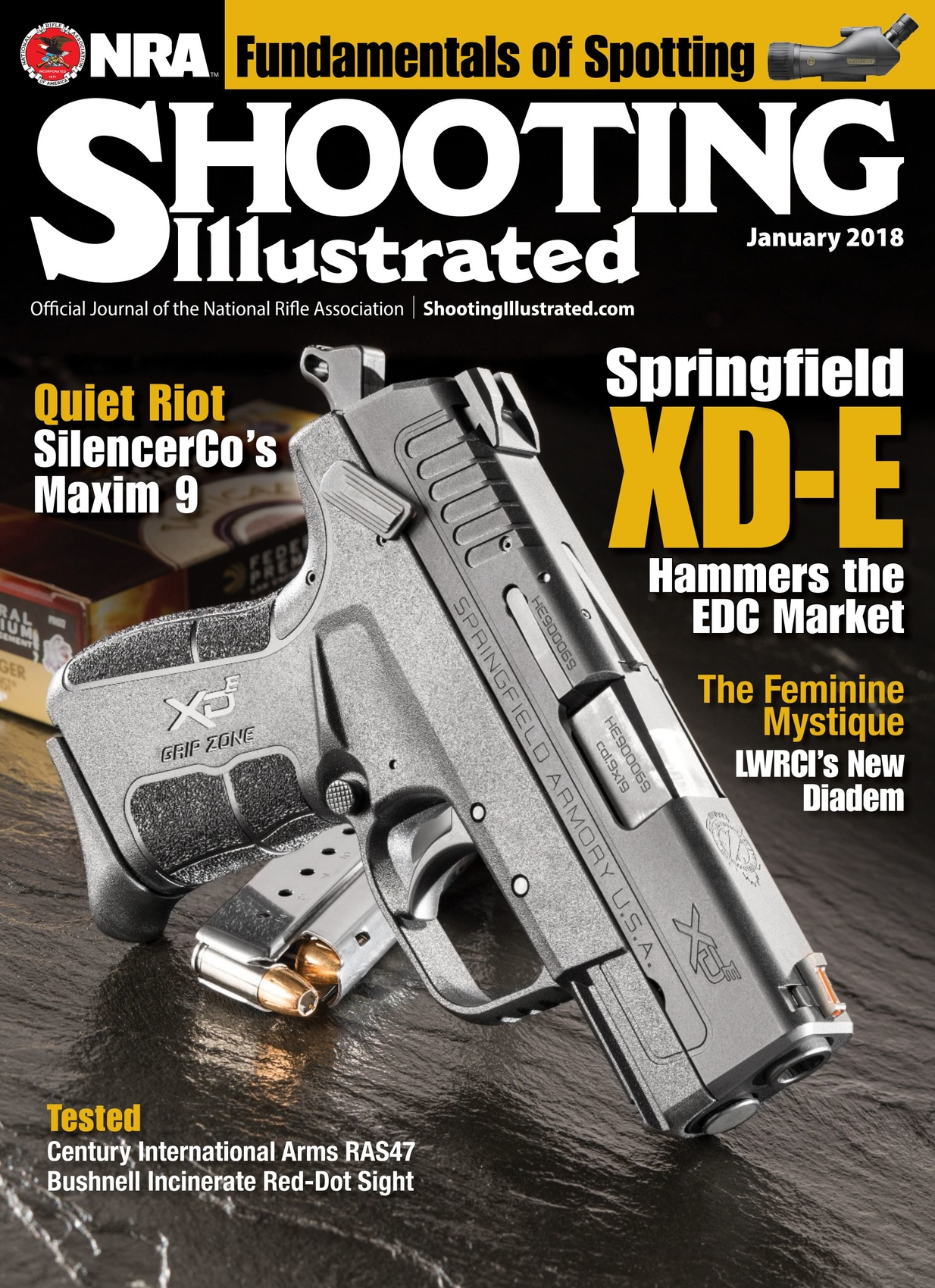 398a59819bc Shooting Illustrated - January 2018