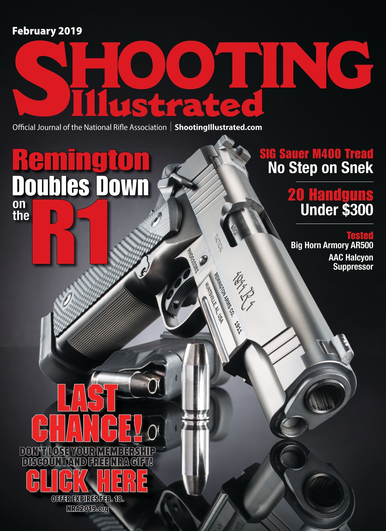 f67be109c7a Shooting Illustrated - February 2019 - Cover1