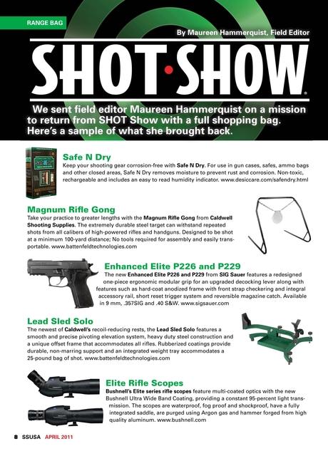 Shooting Sports USA - April 2011