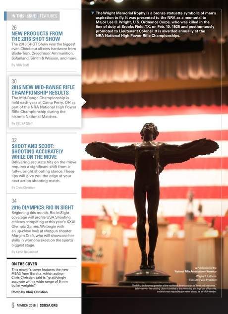 Shooting Sports USA - March 2016