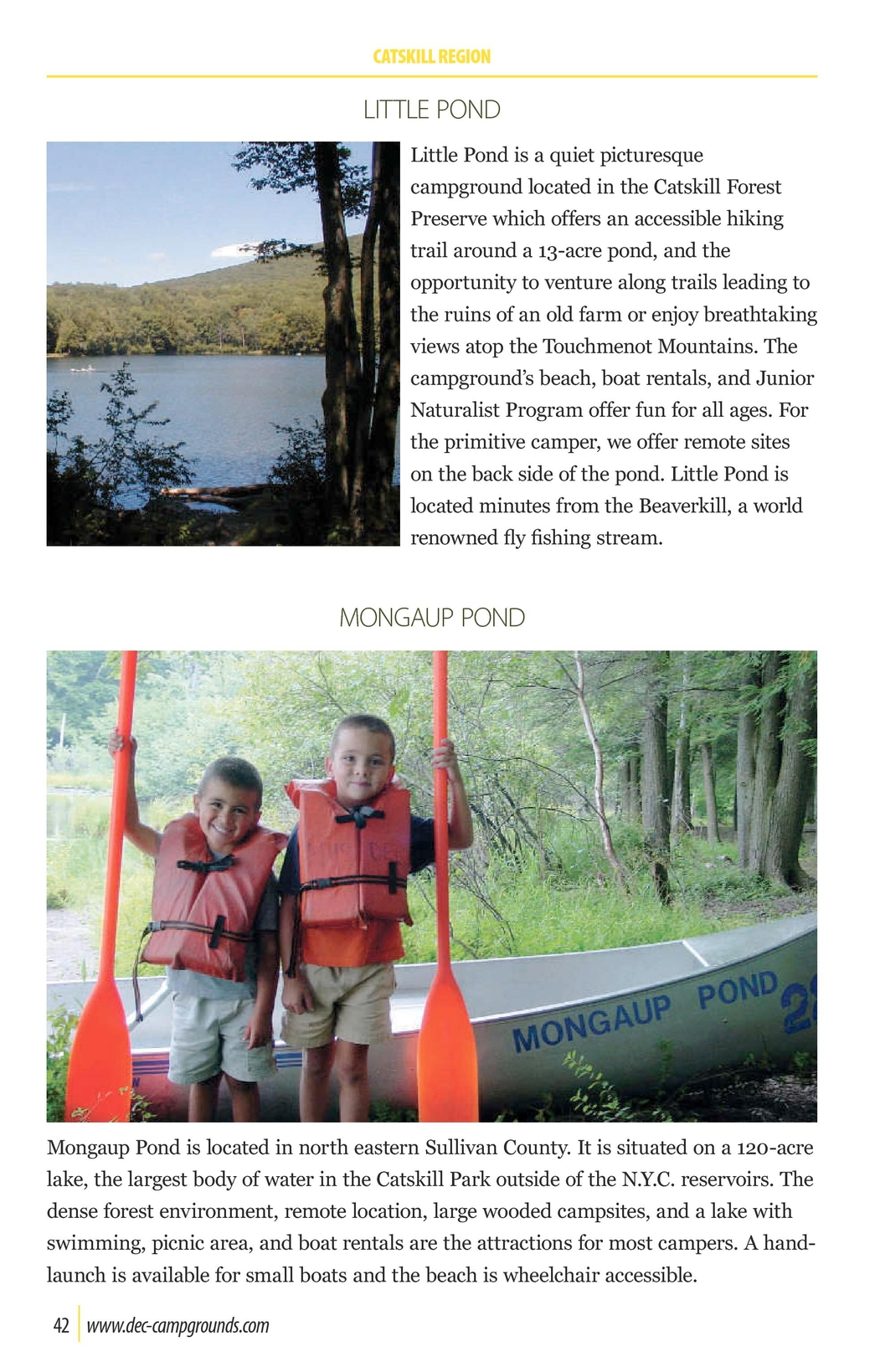 New York Camping Guide 2012