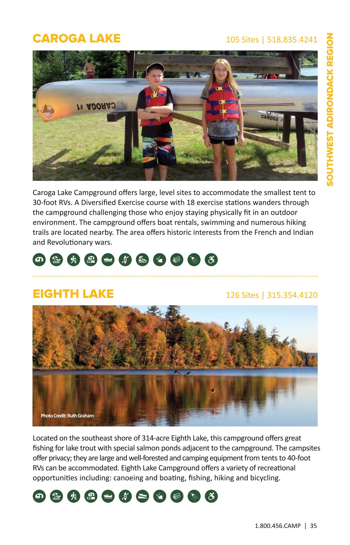 New York State Camping Guide 2017