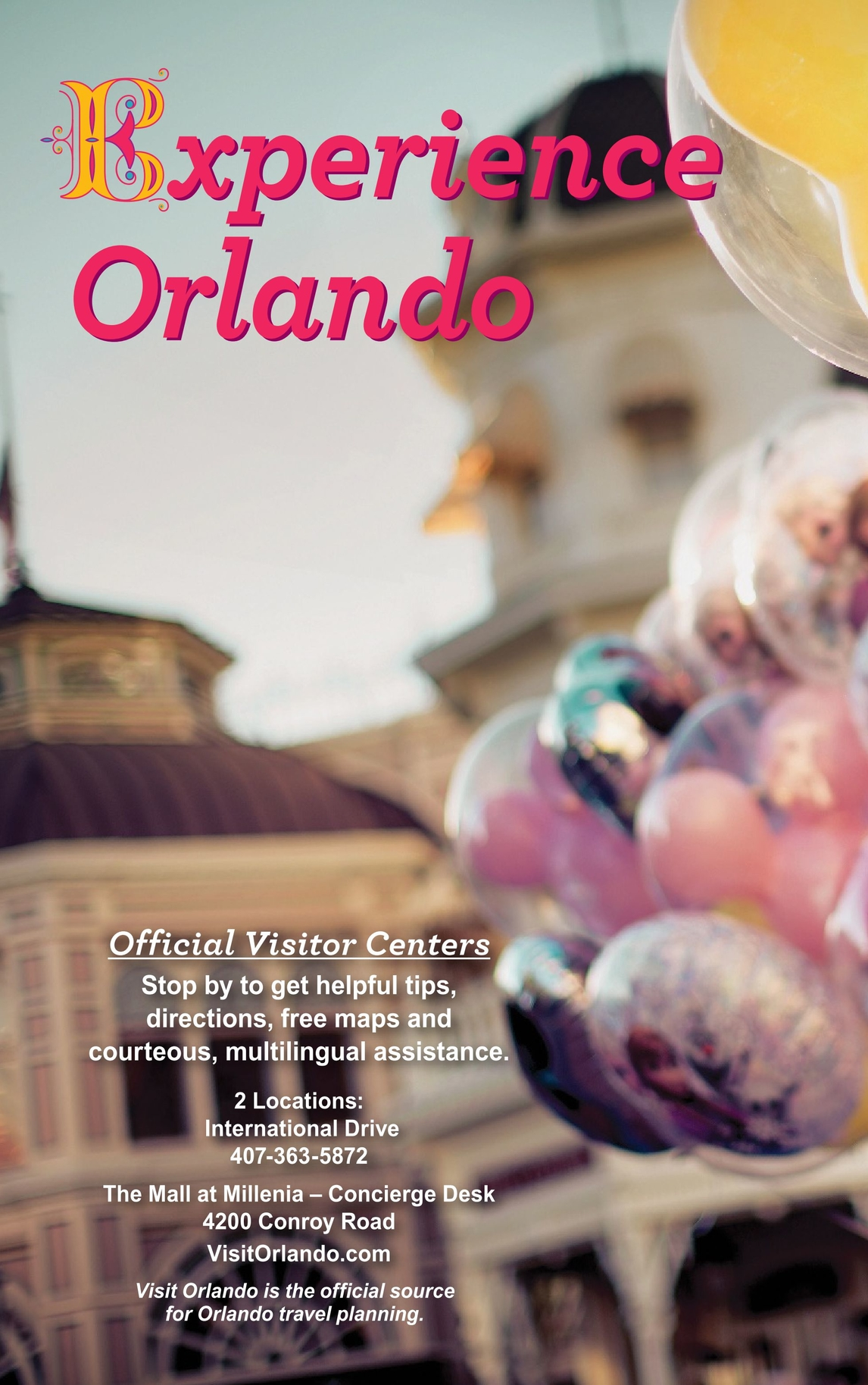 Orlando Official Visitors Guide 2017