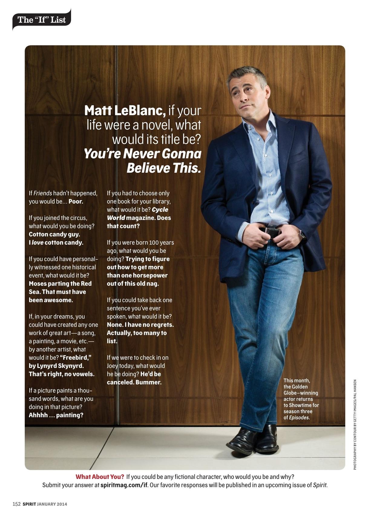Spirit Magazine January 2014