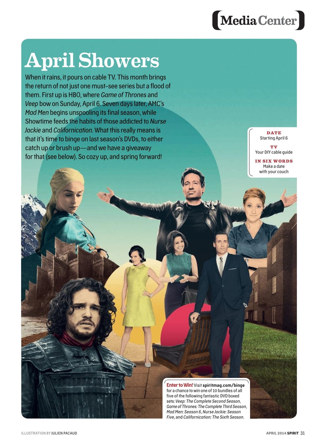 Spirit Magazine - April 2014