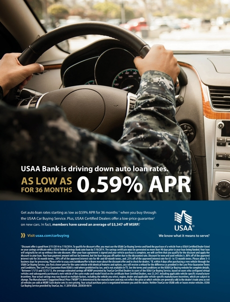 Usaa Car Loan >> Usaa Summer 2014