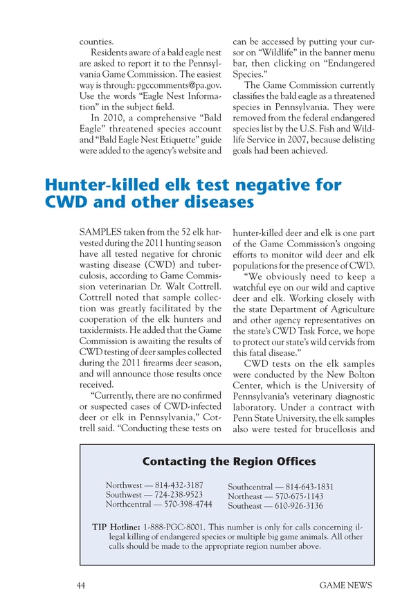 Pennsylvania Game News - May 2012