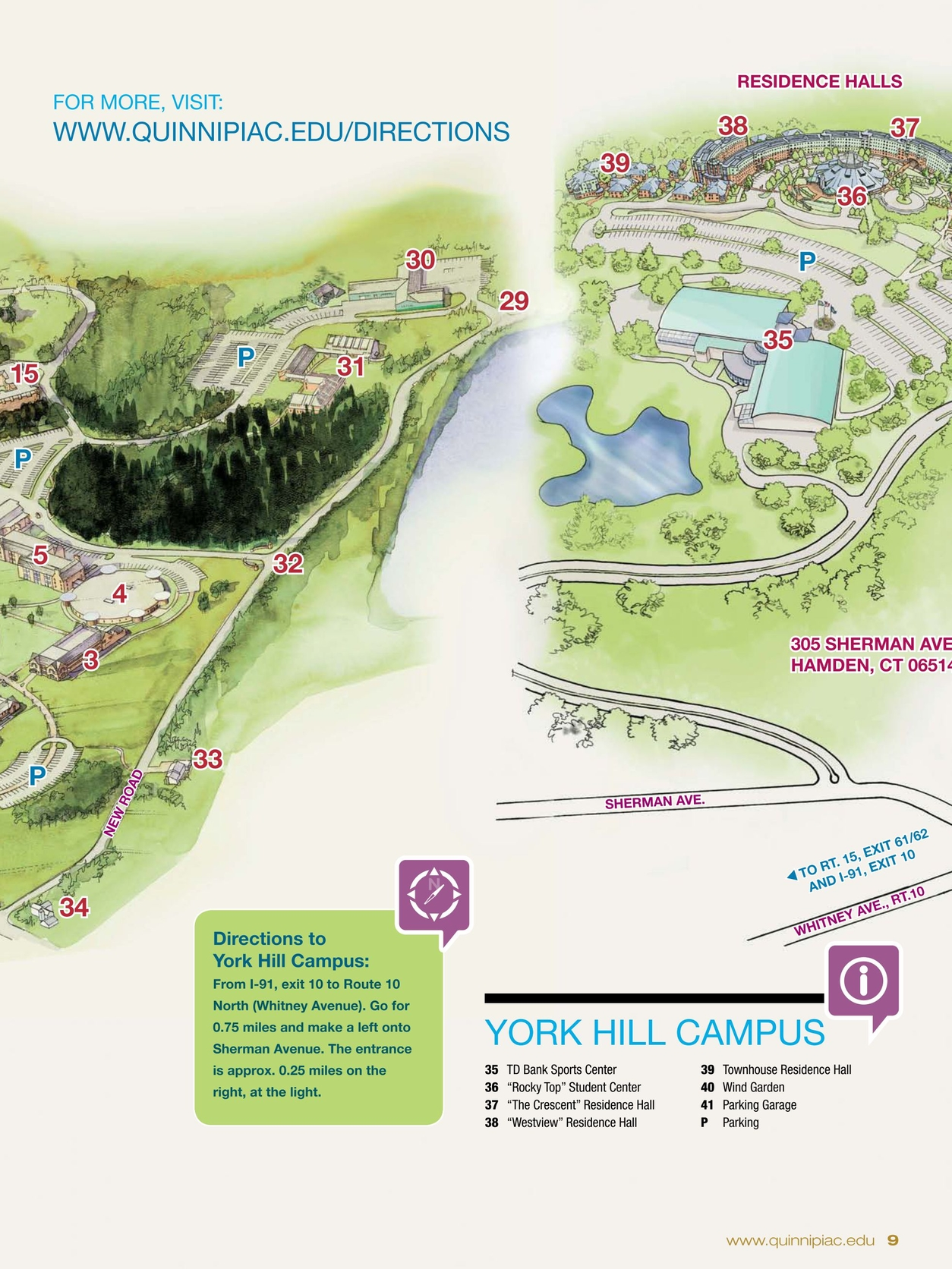 Quinnipiac University VIEWBOOK 2011 on