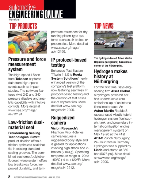 Automotive Engineering International - June 18, 2013