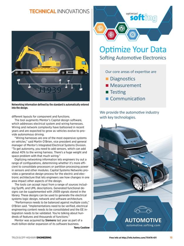 Truck & Off-Highway Engineering - August 2018