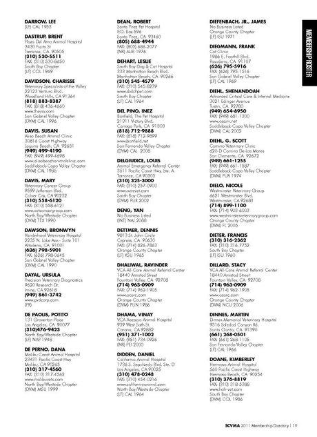 Membership Directory 2011 2012