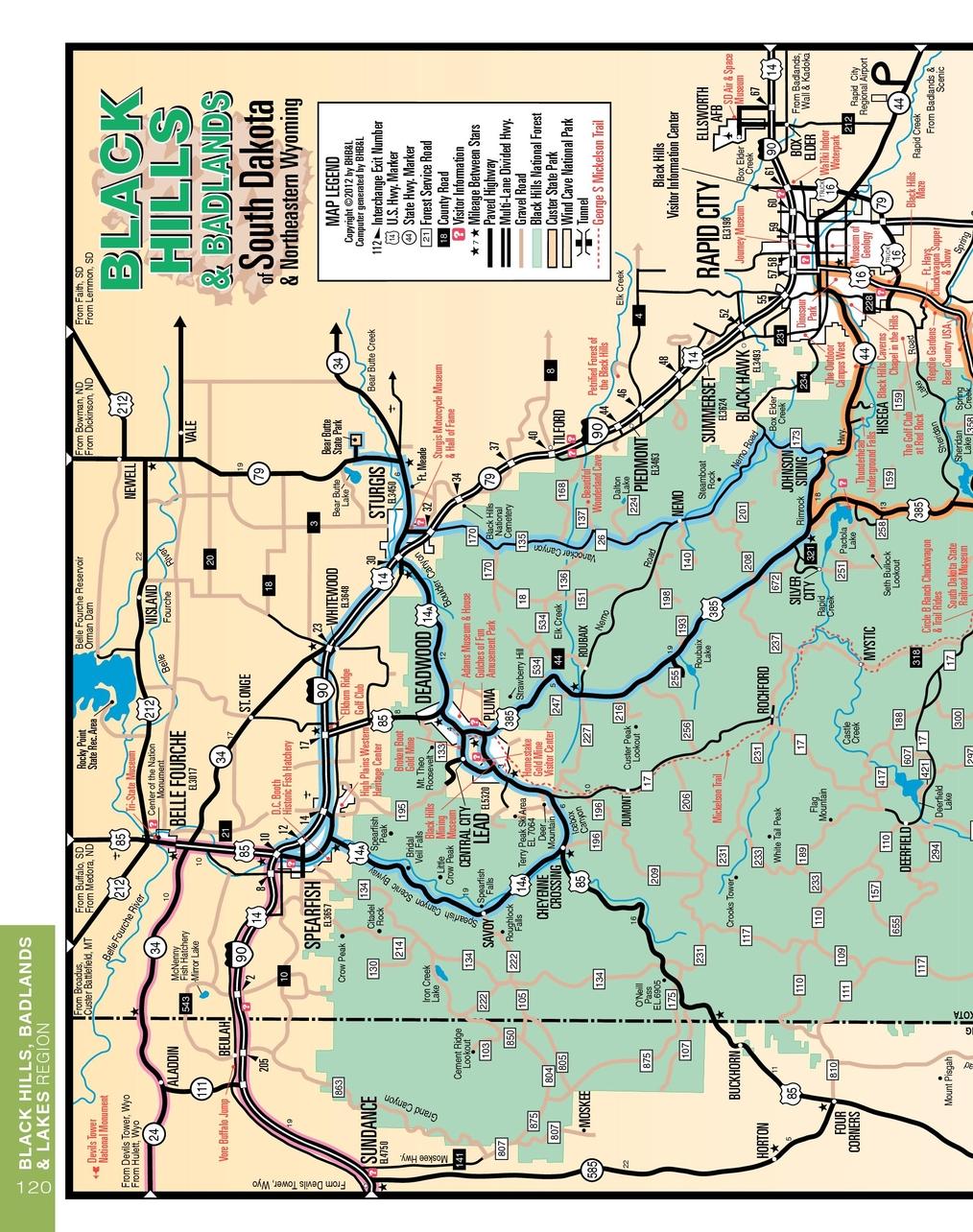 South Dakota Vacation Guide 2012
