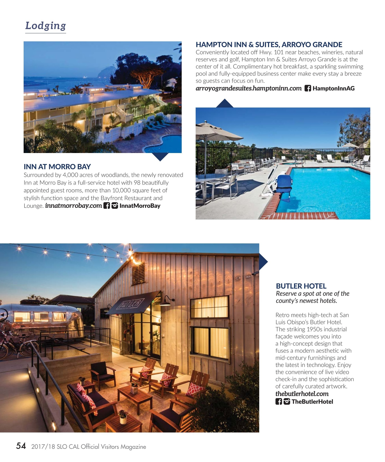 2017/18 SLO CAL Official Visitors Magazine