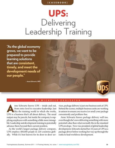Training Industry Quarterly - Summer 2011