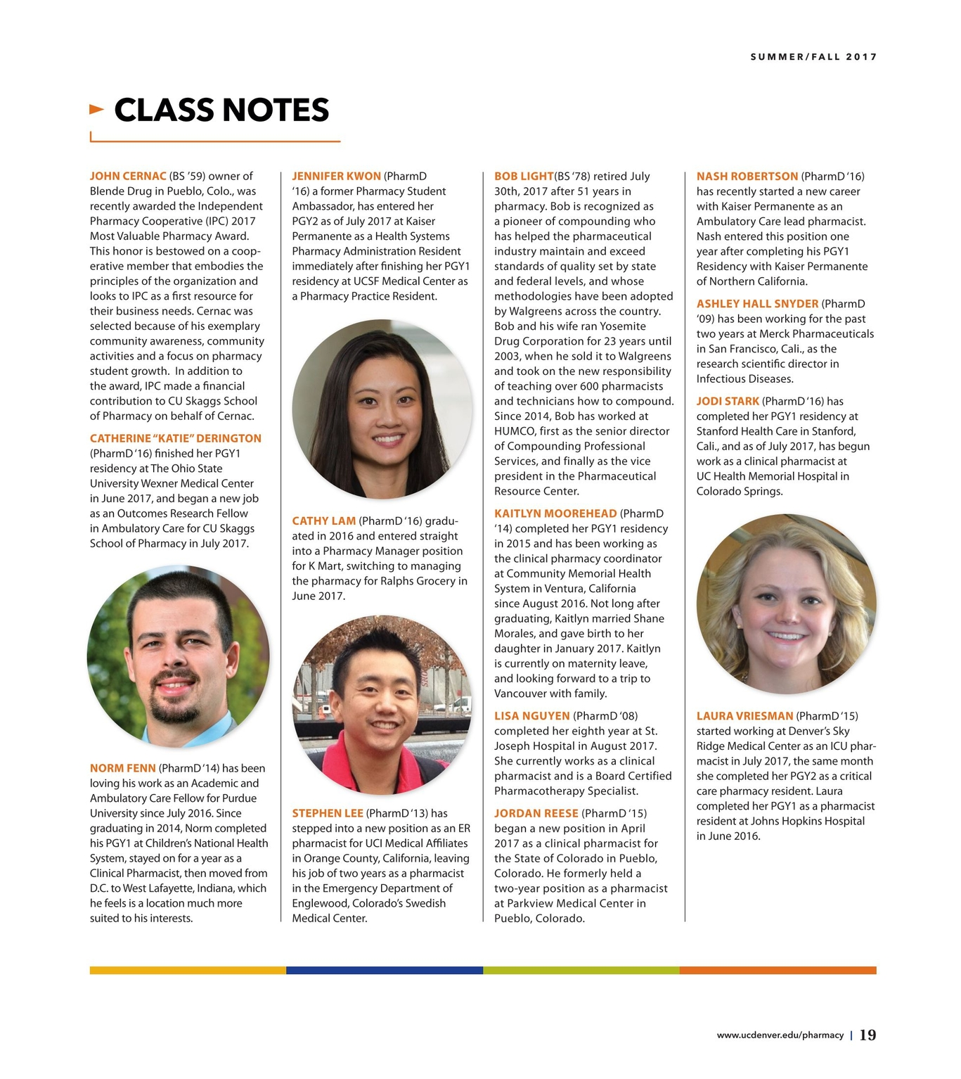 Pharmacy Perspectives - Summer/Fall 2017