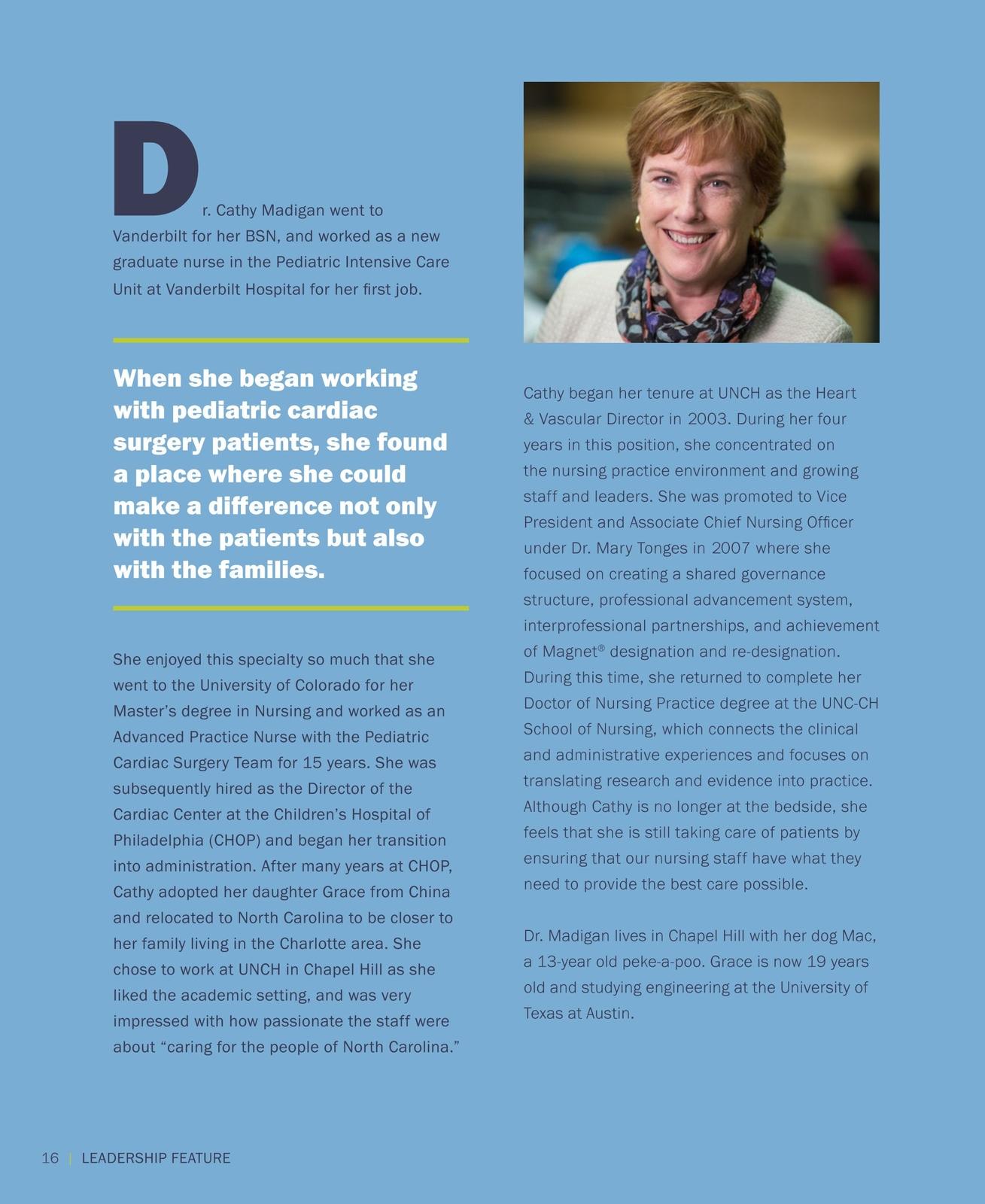 UNCH 2016-2017 Nursing Annual Report