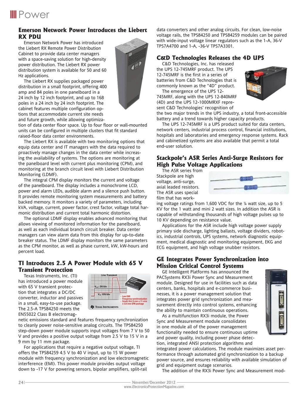 Electronics Protection November December 2012 36 Volt To 12 Converter Wiring Diagram