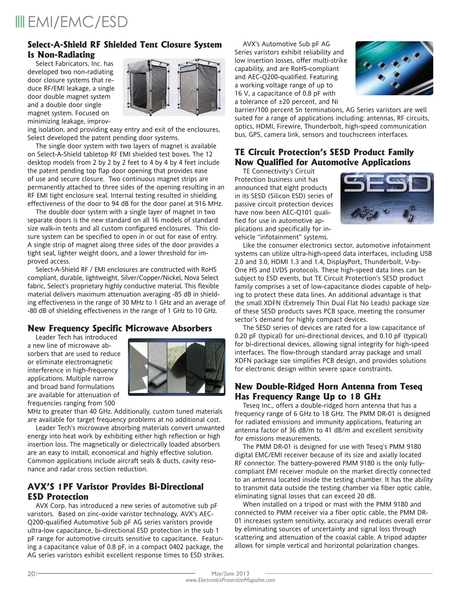 Electronics Protection - May/June 2013