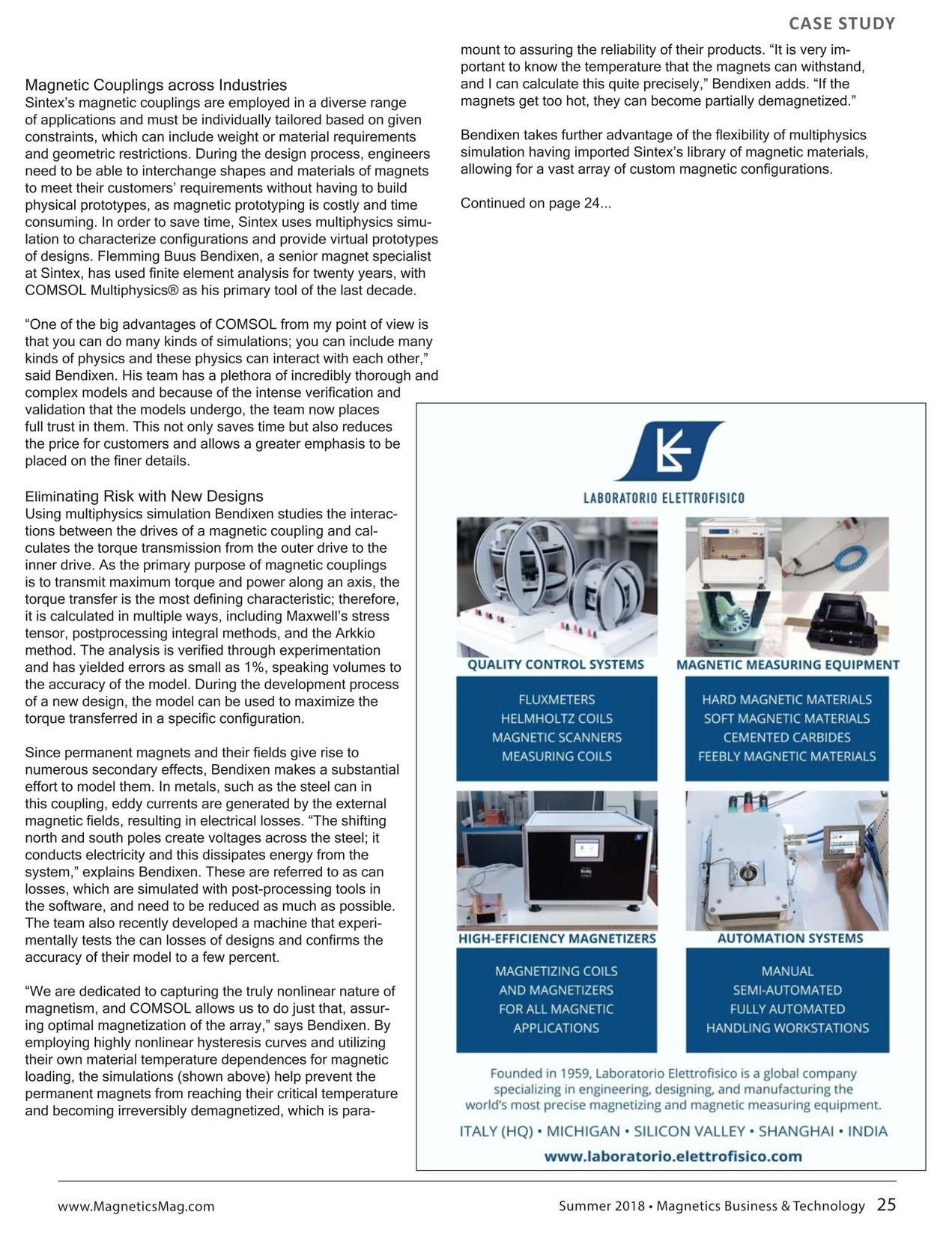 Magnetics Business & Technology - Summer 2018