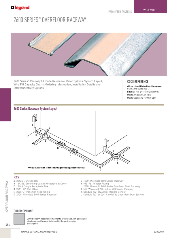 Wire & Cable Management Catalog 2018/2019