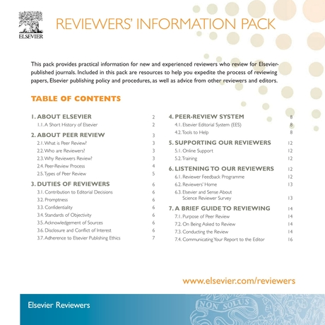 Reviewers Informaton Pack 2013