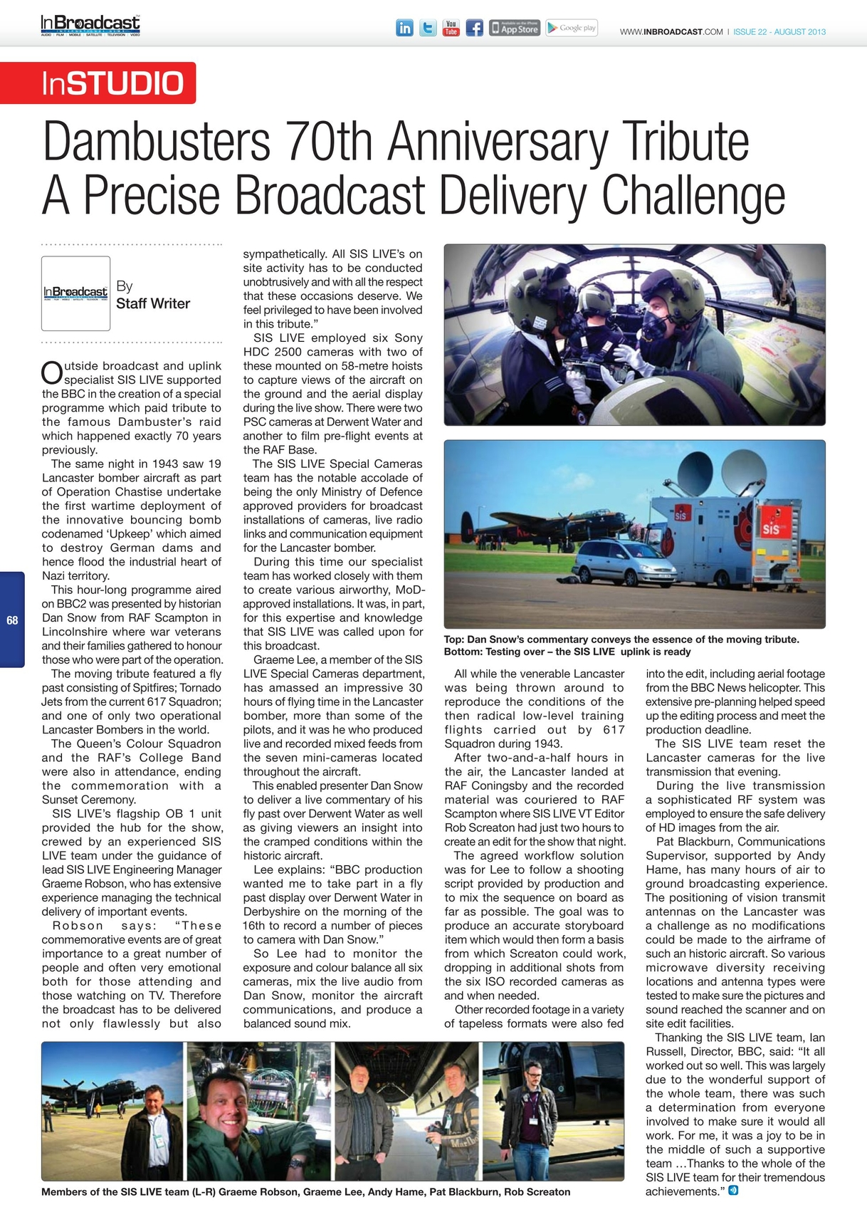 In Broadcast - August 2013