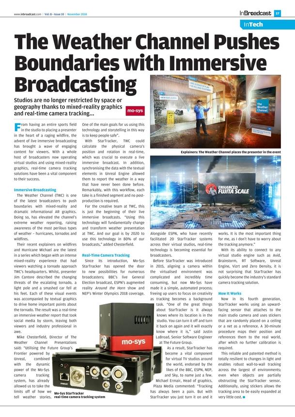 In Broadcast - November 2018