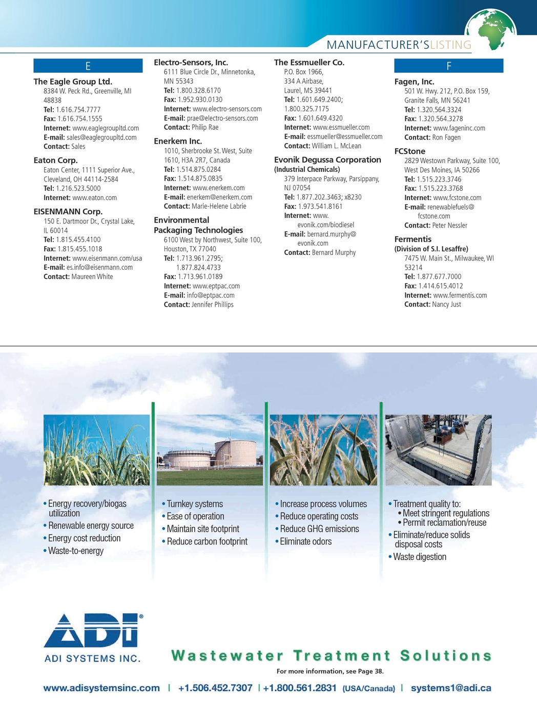 Biofuels Business - March Buyer's Guide 2011