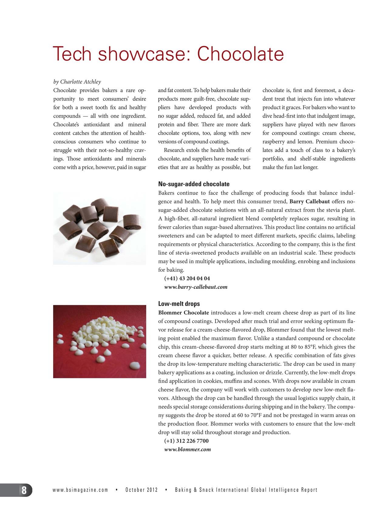 Baking&Snack International - October 2012