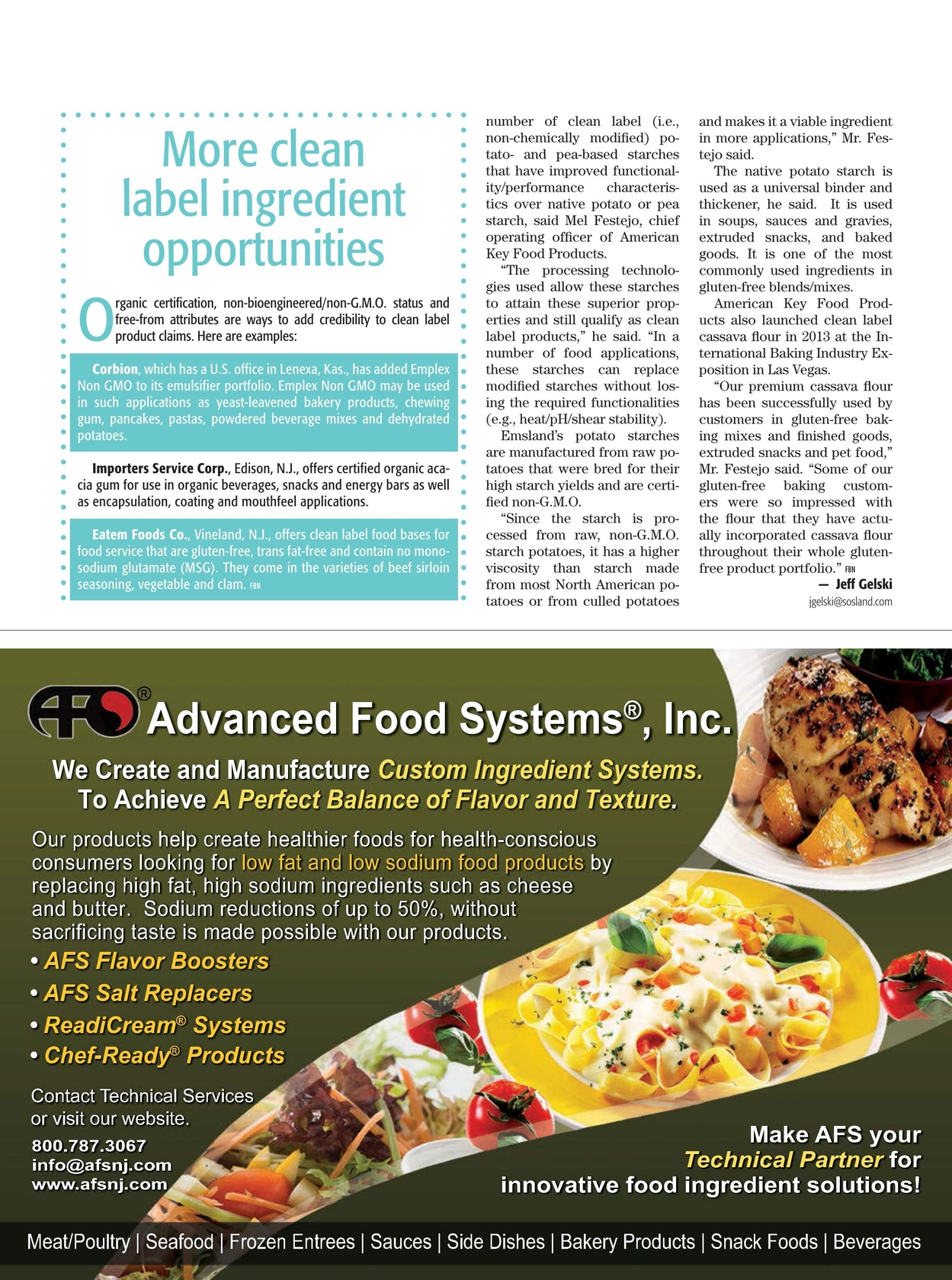 Food Business News - February 24, 2015
