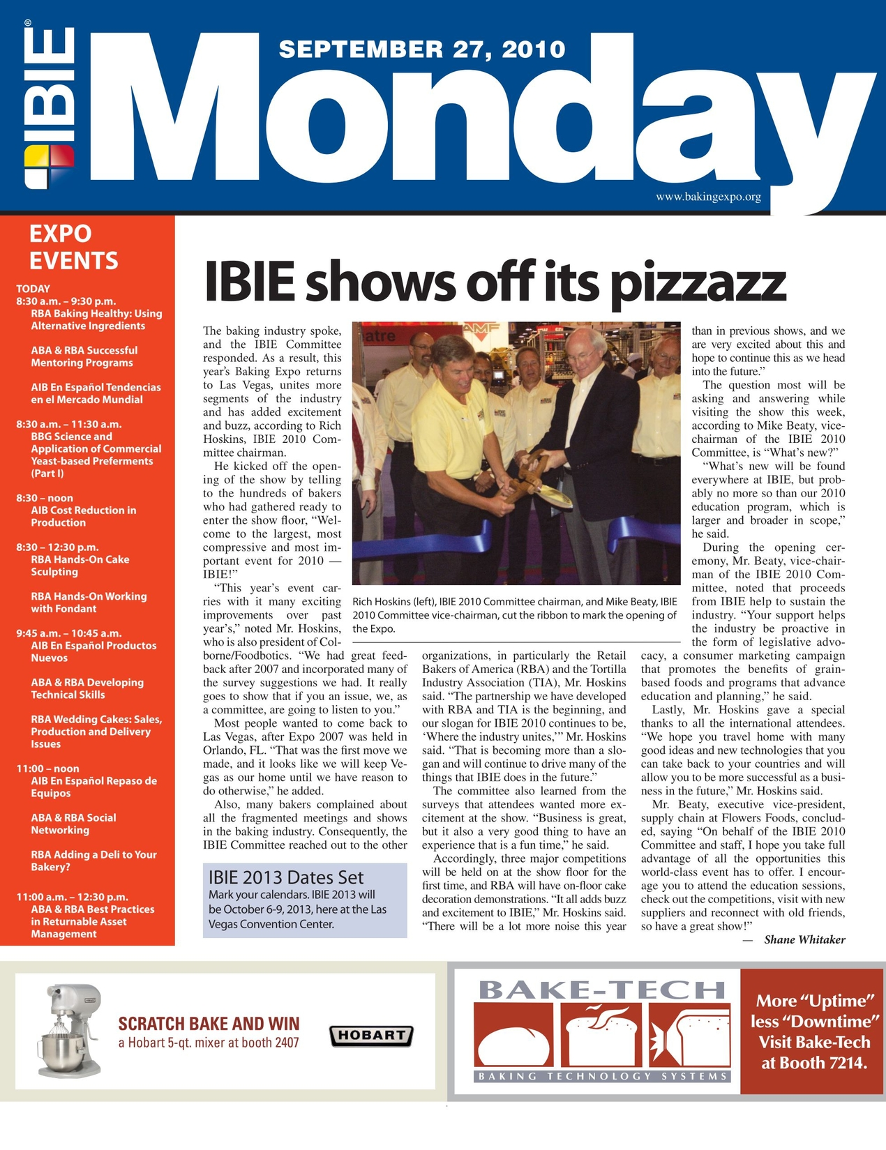 IBIE - September 27, 2010