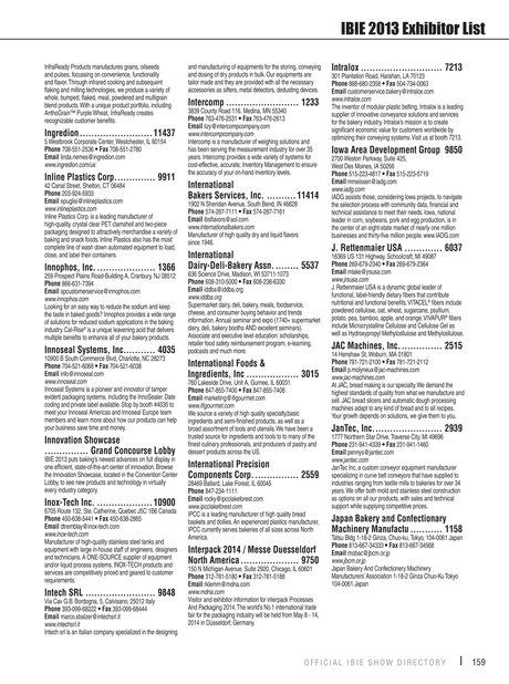 IBIE - 2013 Show Directory