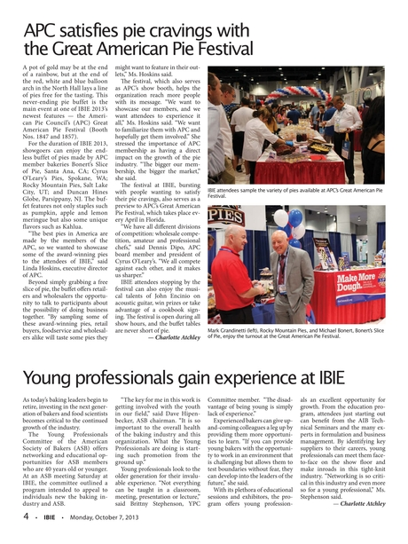 IBIE, show daily - Monday