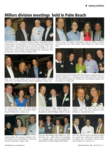 Milling & Baking News - April 16, 2013