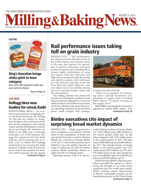 Milling & Baking News - August 5, 2014