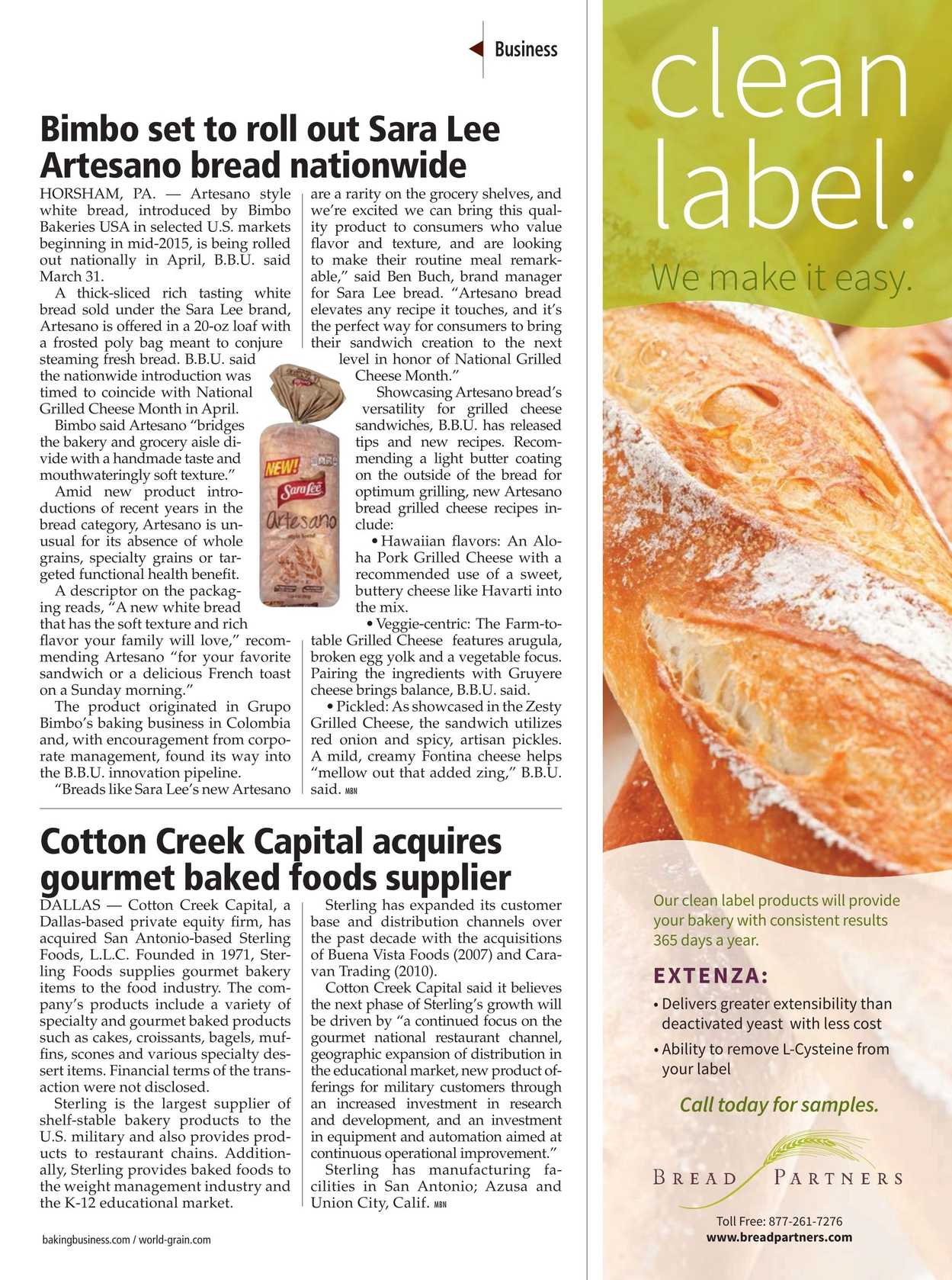 Milling & Baking News - April 12, 2016