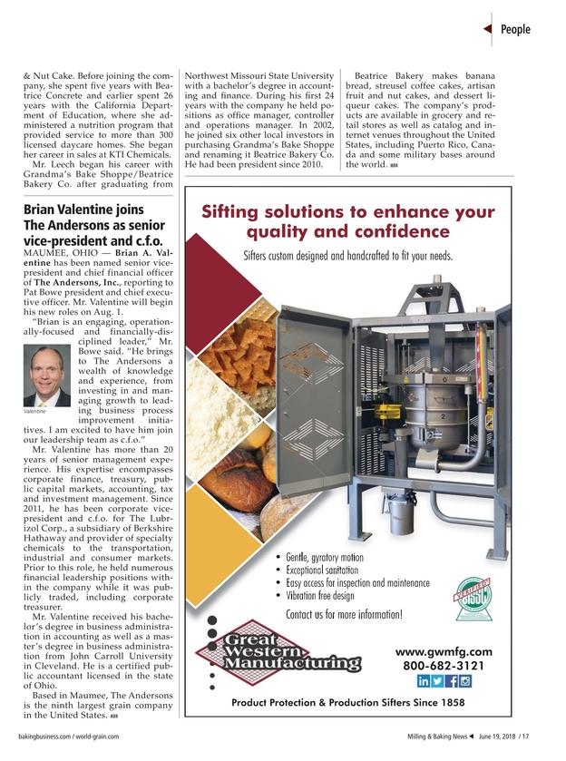 Milling & Baking News - June 19, 2018